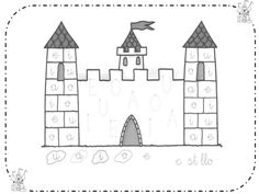 Proyecto Caballeros y Castillos Castle Coloring Page, Coloring Pages, Real Castles, Medieval Crafts, Château Fort, Medieval Times, Classroom Decor, Ideas Para, Diy And Crafts