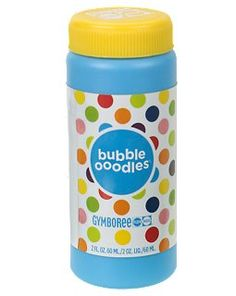 Gymboree Bubbles - They land without popping!