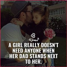 Father Daughter Love Quotes, Father And Daughter Love, Love My Parents Quotes, Mom And Dad Quotes, I Love My Dad, Fathers Love, Papa Quotes, Father Quotes, Millionaire Lifestyle