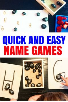 Preschool name activities. Prek Breakfast Invitation that will encourage letter recognition and name recognition. This fine motor game has loose parts and is Reggio Inspired. Preschool Name Recognition, Preschool Names, Name Activities, Letter Recognition, Alphabet Activities, Hands On Activities, Toddler Preschool, Toddler Activities, Toddler Play