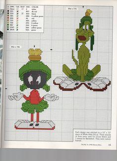 Cartoon Cross Stitch Patterns | Share