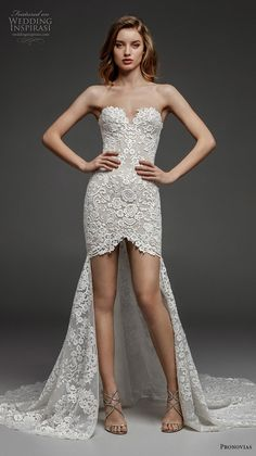79ea22bf0f0 atelier pronovias 2019 bridal strapless sweetheart neckline full  embellishment romantic sexy high low wedding dress mid