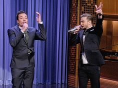 Justin Timberlake and Jimmy Fallon: A History of the 'History of Rap' loved this on the tonight show!!