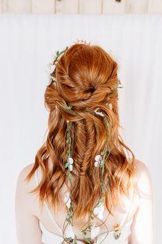 HAIR: @hairbyrei Boho Bridal Hair, Dreadlocks, Hair Styles, Beauty, Instagram, Fashion, Hair Plait Styles, Moda, Fashion Styles