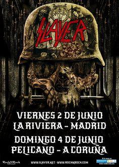 Slayer confirman gira española | The Metal Circus