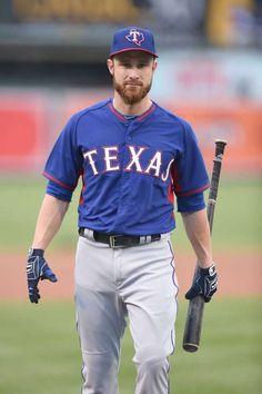 Jonathan Lucroy #25/ catcher for the Texas Rangers