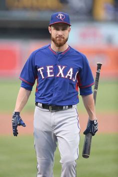 Jonathan Lucroy #25/ catcher for the Texas Rangers