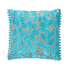 Designers Guild Calaggio Cushion in turquoise £80