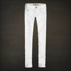 hollister white pants