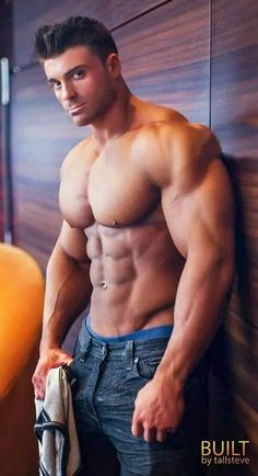 Amazing Muscle Guy With Big Cut Cock In Glory