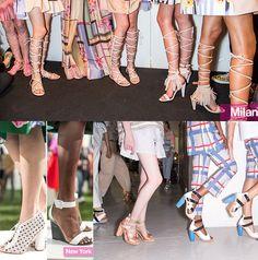 Tendenze Moda Scarpe e Sandali primavera estate 2015