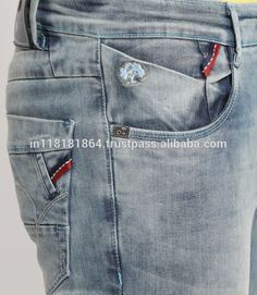 Source Hot sale men latest FANCY design denim jeans on m.alibaba.com
