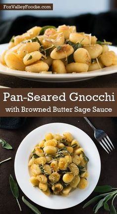 Pan-Seared Gnocchi with Browned Butter Sage Sauce