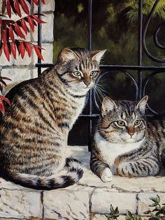 Tabby and Toby by Persis Clayton Weirs