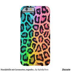 Handyhülle mit Leomuster, regenbogenfarben Barely There iPhone 6 Hülle