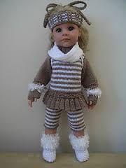 knitting clothes for dolls götz - Hledat Googlem