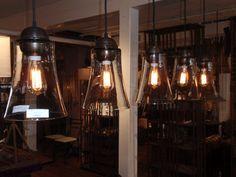 Vintage industrial pendant lights