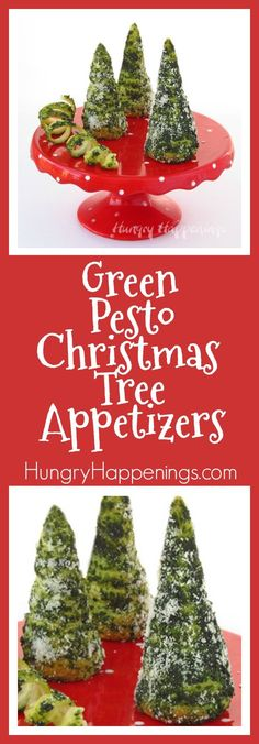 Green Pesto Crescent Roll Christmas Tree Appetizers