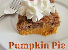 Pumpkin Pie Dump Cake Recipe