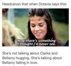 I SHIP BELLAMY AND CLARKE SO MOTHER FLIPPING BADLY