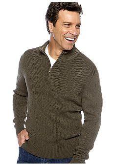 Tommy Bahama® Coastal Fairway Half Zip Sweater #belk