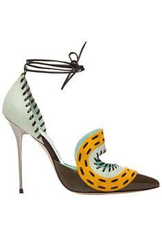 pinterest.com/fra411 #shoes - Manolo Blahnik - Shoes - 2014 Spring-Summer