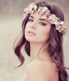 Simple Colorful Flower Crown — Crafthubs