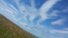 Interesting skies Cemaes Bay