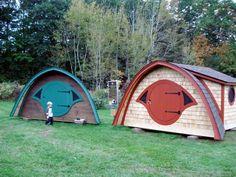 Hobbit hole playhouse.