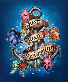 «Just Keep Swimming» de Tim  Shumate