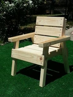 Happy Chairs Unfinished Outdoor Furniture by HappyChairsandMore, $54.60
