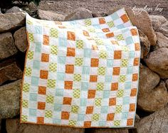 Basket Weave Quilting Technique, and this would make an adorable baby quilt