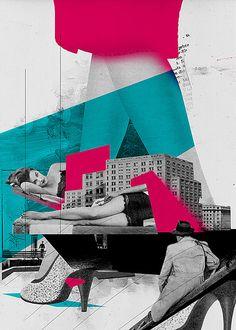 lovesick by marek.haiduk, via Flickr. #art #design #retro