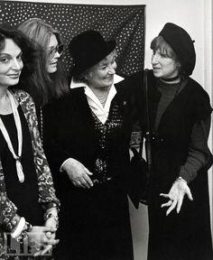 Von Furstenberg, Gloria Steinem, Bella Abzeg and Barbra Streisand