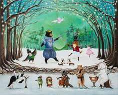 The Waltz of Winter The friends of the Forest find new ways to celebrate every year. This year they will be performing The Nutcracker, with a most