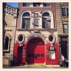 Engine 55. Broome St. LIttle Italy. NYC. Via Instagram.