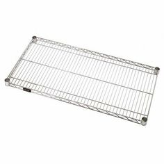 "48"" x 18"" Wire Shelves, 4 PER CASE by Plexon Products. $231.99. 48"" x 18"" Wire Shelves, 4 PER CASE, Heavy-duty shelving is constructed from chrome-plated, carbon steel which resists rust and corrosion. Includes snap-on post sleeves. Carbon SteelChromeWire Shelves48"" x 18"" Wire Shelves, 4 PER CASE"