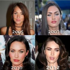 *-*hollywood transformations - Then and Now: Megan Fox