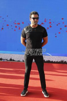 Rohit Roy at the Justin Bieber Purpose Tour India Concert 2017