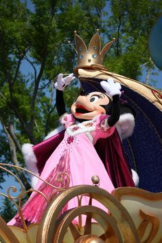 Minnie Mouse. I'm kinda obsessed.