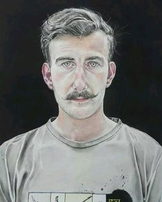 #repost - because I've written a blog post about the story behind this painting -> @lee_devonish  #watercolour #contemporaryrealism #fineart #contemporaryart #portraits #men #portraiture #artwork #painting #paint #watercolor #artist #artistsofinstagram #fineartuk #blog #blogger #representationalart #realism #detail #moustache #moustaches