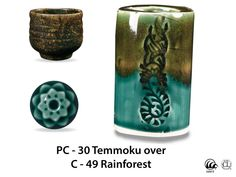 Temmoku is a textured, satin-matte dark brown/tan speckled glaze that looks great layered beneath some of the more fluid Potter's Choice glazes. With its consistent surface and reliable results, this glaze makes a fantastic liner for cups, pots, bowls, and other ware.