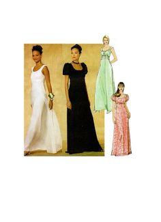 Sewing Pattern Evening Gown Elegant by hookandneedlepattern, $10.00