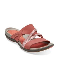 Tealite Slide Rosa - Clarks® Sandals for Women - Clarks® Shoes - Clarks