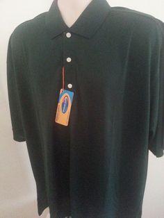 NWT Enduro Cool Men's Polo Shirt Henley Polyester XL Short S Green Solid Ultra P #EnduroCool #Henley #ebay #EnduroCool #Henley #PoloShirtXL