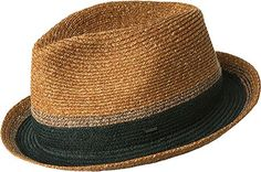 Bailey Of Hollywood Male Grimet Braided Fedora Pecan M Ba...