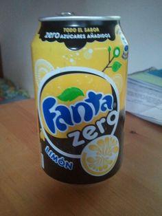 Spanish lemon Zero Fanta
