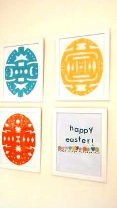 A Little Learning for Two Snowflake Easter Eggs on Cool Mom Picks