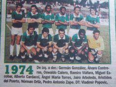 deportivo cali | DEPORTIVO CALI 1974