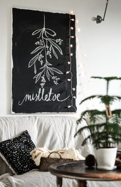 UNDER MISTLETOE DIY | pod jemiołą